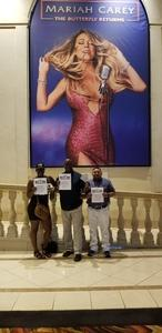 CLARENCE attended Mariah Carey - the Butterfly Returns on Jul 5th 2018 via VetTix