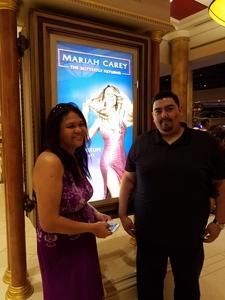 Jose attended Mariah Carey - the Butterfly Returns on Jul 5th 2018 via VetTix
