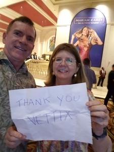 Carl attended Mariah Carey - the Butterfly Returns on Jul 5th 2018 via VetTix
