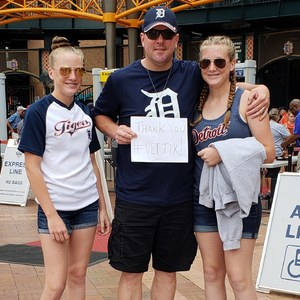 Dan attended Detroit Tigers vs. Cincinnati Reds - MLB on Aug 1st 2018 via VetTix