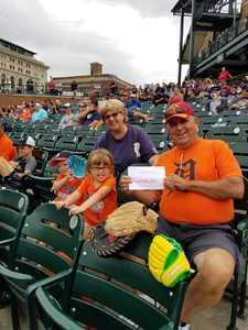 Gary attended Detroit Tigers vs. Cincinnati Reds - MLB on Aug 1st 2018 via VetTix