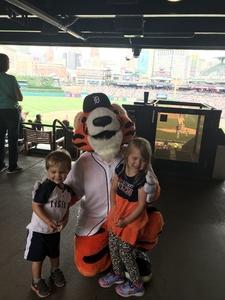 Frederick attended Detroit Tigers vs. Cincinnati Reds - MLB on Aug 1st 2018 via VetTix