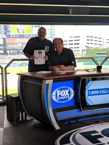 Michael attended Detroit Tigers vs. Cincinnati Reds - MLB on Aug 1st 2018 via VetTix