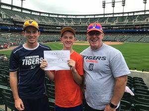 David attended Detroit Tigers vs. Cincinnati Reds - MLB on Aug 1st 2018 via VetTix