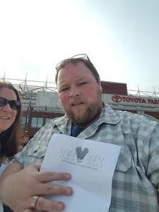 Kyle attended Western and Eastern Conference Championship - Double Header - Legends Football League - Women of the Gridiron on Aug 25th 2018 via VetTix