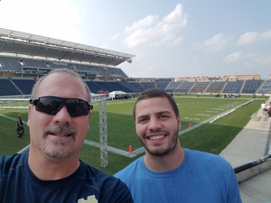 William attended Western and Eastern Conference Championship - Double Header - Legends Football League - Women of the Gridiron on Aug 25th 2018 via VetTix