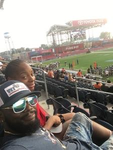Trenton Jones attended Western and Eastern Conference Championship - Double Header - Legends Football League - Women of the Gridiron on Aug 25th 2018 via VetTix