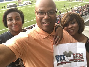 CORNEAL attended Western and Eastern Conference Championship - Double Header - Legends Football League - Women of the Gridiron on Aug 25th 2018 via VetTix