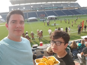 Roberto attended Western and Eastern Conference Championship - Double Header - Legends Football League - Women of the Gridiron on Aug 25th 2018 via VetTix