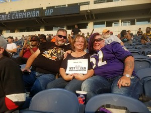 Sean attended Western and Eastern Conference Championship - Double Header - Legends Football League - Women of the Gridiron on Aug 25th 2018 via VetTix