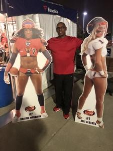 Erwin attended Western and Eastern Conference Championship - Double Header - Legends Football League - Women of the Gridiron on Aug 25th 2018 via VetTix