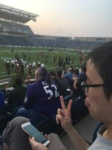 Juan attended Western and Eastern Conference Championship - Double Header - Legends Football League - Women of the Gridiron on Aug 25th 2018 via VetTix
