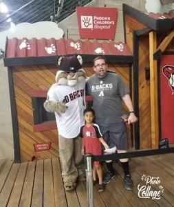 Jason attended Arizona Diamondbacks vs. Texas Rangers - MLB on Jul 30th 2018 via VetTix