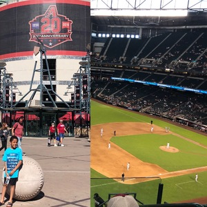 Edmunda attended Arizona Diamondbacks vs. Texas Rangers - MLB on Jul 30th 2018 via VetTix