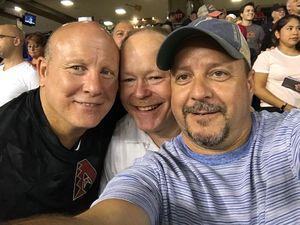 paul attended Arizona Diamondbacks vs. Texas Rangers - MLB on Jul 30th 2018 via VetTix
