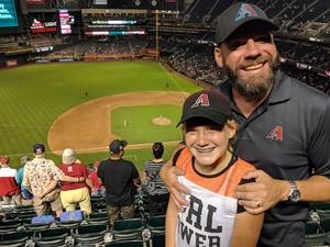 Brian attended Arizona Diamondbacks vs. Texas Rangers - MLB on Jul 30th 2018 via VetTix