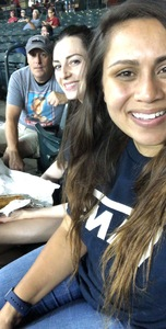 V attended Arizona Diamondbacks vs. Texas Rangers - MLB on Jul 30th 2018 via VetTix