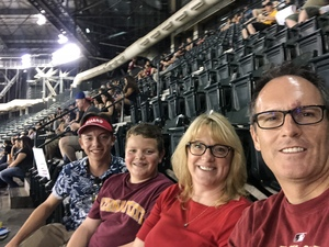 Lawrence attended Arizona Diamondbacks vs. San Francisco Giants - MLB on Aug 3rd 2018 via VetTix