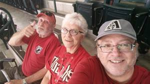 Christopher attended Arizona Diamondbacks vs. San Francisco Giants - MLB on Aug 3rd 2018 via VetTix