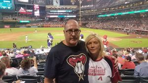Mark attended Arizona Diamondbacks vs. San Francisco Giants - MLB on Aug 3rd 2018 via VetTix