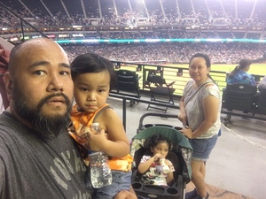 Jerome attended Arizona Diamondbacks vs. San Francisco Giants - MLB on Aug 3rd 2018 via VetTix