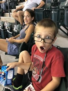 Justin attended Arizona Diamondbacks vs. San Francisco Giants - MLB on Aug 3rd 2018 via VetTix
