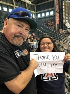 Lenny attended Arizona Diamondbacks vs. San Francisco Giants - MLB on Aug 3rd 2018 via VetTix