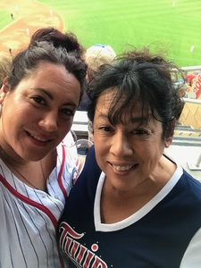 Ariana attended Minnesota Twins vs. Kansas City Royals - MLB on Aug 4th 2018 via VetTix