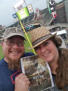 Brian attended Minnesota Twins vs. Kansas City Royals - MLB on Aug 4th 2018 via VetTix
