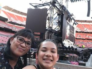 Yvonne attended Taylor Swift Reputation Stadium Tour on Jul 17th 2018 via VetTix