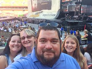 Dario attended Taylor Swift Reputation Stadium Tour on Jul 17th 2018 via VetTix
