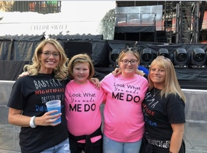 Christopher attended Taylor Swift Reputation Stadium Tour on Jul 17th 2018 via VetTix