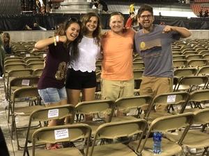 Justin attended Taylor Swift Reputation Stadium Tour on Jul 17th 2018 via VetTix