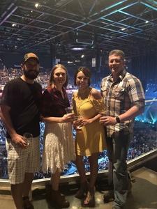 Melissa attended Tim McGraw & Faith Hill Soul2Soul the World Tour 2018 on Jul 20th 2018 via VetTix
