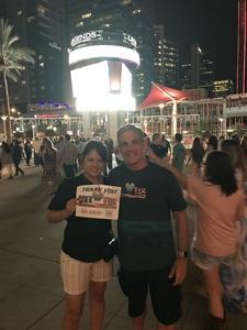 Stephen C attended Tim McGraw & Faith Hill Soul2Soul the World Tour 2018 on Jul 20th 2018 via VetTix