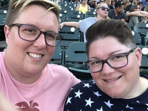 Sarah attended Def Leppard and Journey Live in Concert on Jul 13th 2018 via VetTix