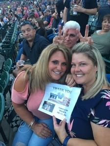Channin attended Def Leppard and Journey Live in Concert on Jul 13th 2018 via VetTix