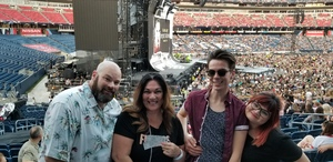 Max attended Taylor Swift Reputation Tour on Aug 25th 2018 via VetTix
