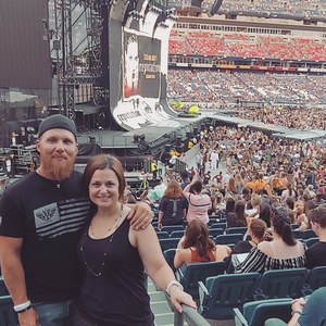Johnathan attended Taylor Swift Reputation Tour on Aug 25th 2018 via VetTix