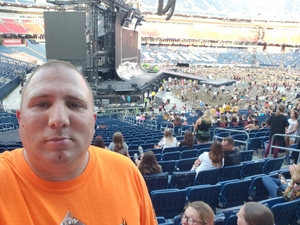 Shannon attended Taylor Swift Reputation Tour on Aug 25th 2018 via VetTix