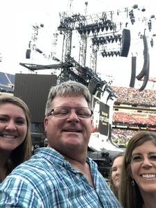 Derek attended Taylor Swift Reputation Tour on Aug 25th 2018 via VetTix