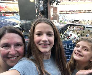 Erin attended Taylor Swift Reputation Tour on Aug 25th 2018 via VetTix
