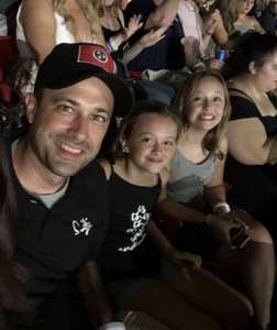Timothy attended Taylor Swift Reputation Tour on Aug 25th 2018 via VetTix