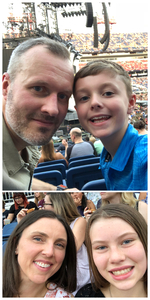 Terry attended Taylor Swift Reputation Tour on Aug 25th 2018 via VetTix