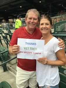 Jeri-Ann attended Zac Brown Band Etix 7/14/2018 on Jul 14th 2018 via VetTix