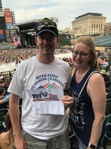 George attended Zac Brown Band Etix 7/14/2018 on Jul 14th 2018 via VetTix