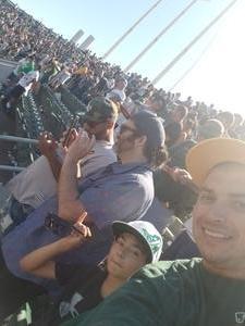 Joshua attended Oakland Athletics vs. San Francisco Giants - MLB on Jul 22nd 2018 via VetTix