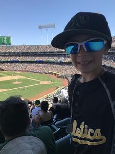 Michael attended Oakland Athletics vs. San Francisco Giants - MLB on Jul 22nd 2018 via VetTix