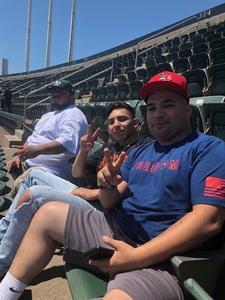 Derrick attended Oakland Athletics vs. San Francisco Giants - MLB on Jul 22nd 2018 via VetTix
