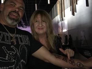 Eliodoro attended Stars Align Tour: Jeff Beck & Paul Rodgers and Ann Wilson of Heart on Jul 25th 2018 via VetTix